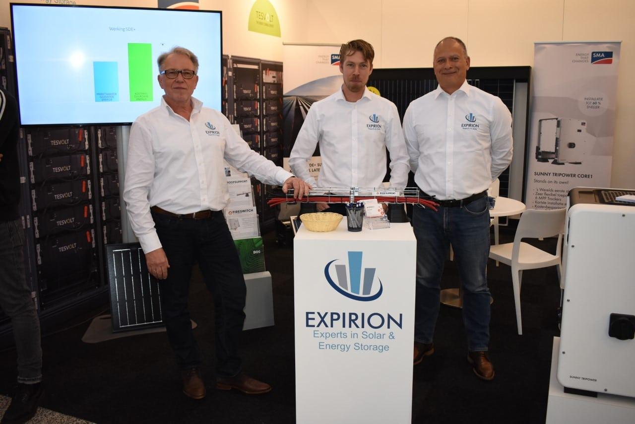 Directeur Jaap Burgerhout, mede-eigenaar Ralph Burgerhout en projectmanager Marcel Riemen