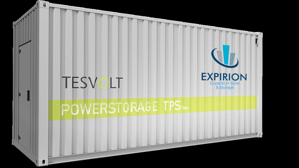 Grote buurtbatterij: TPS Flex
