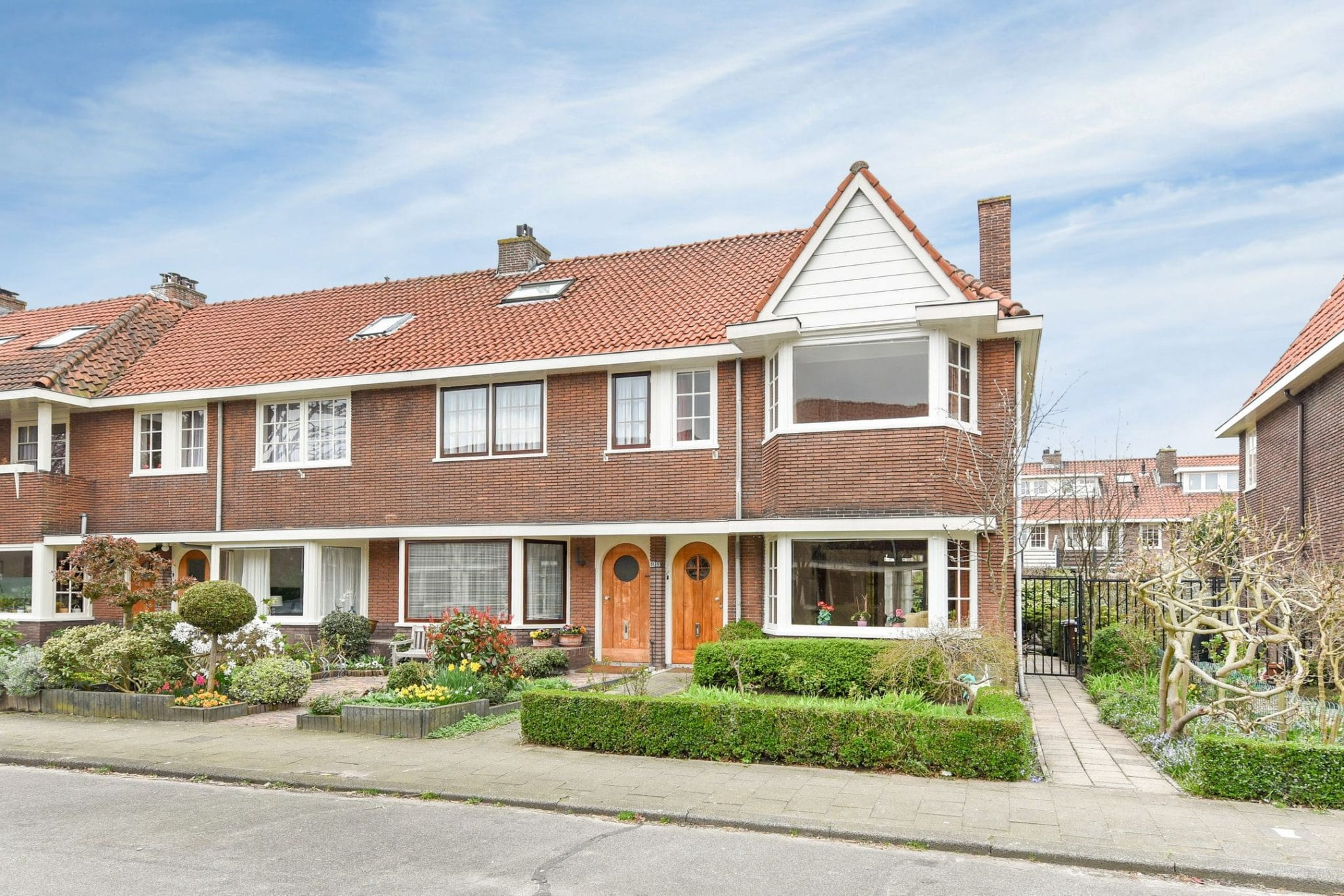Jaren 30 woningen in Utrecht. Foto: indebuurt.nl