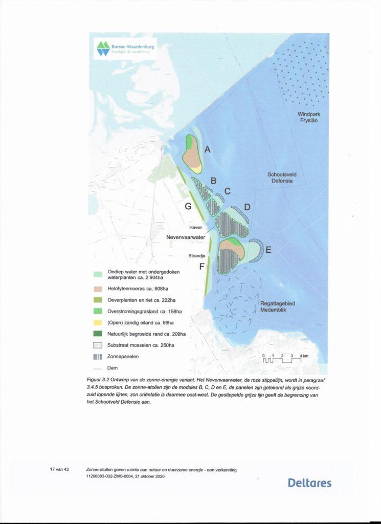 Overzicht van de ligging van de atollen. Bron: Deltares